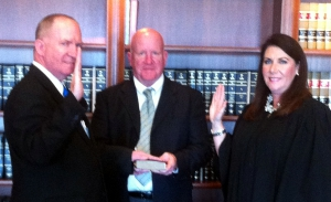 Swearing in of J.D. Snoddy - 3rd term